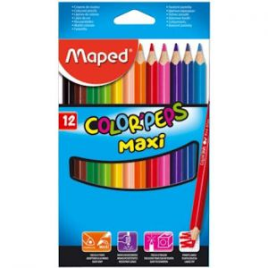 Maped Color Peps Maxi Kuru Boya 12'li