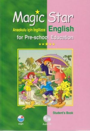 Magic Star Anaokulu İçin İngilizce - English For Pre-school Education Set