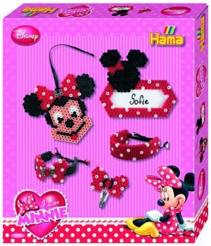 Hama 2500 Boncuk Kutu - Minnie Mouse (Disney)