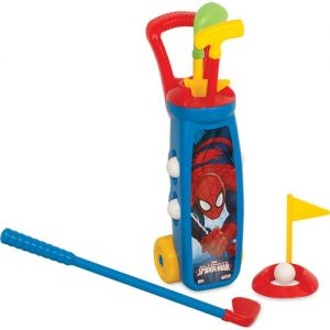 Spiderman Golf Arabası