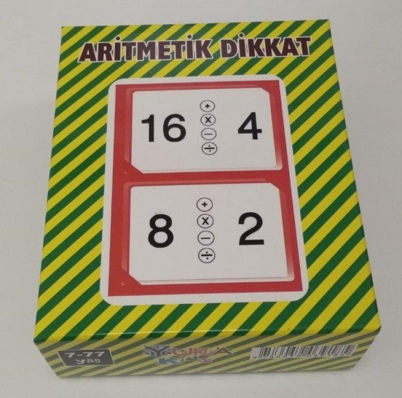 Aritmetik Dikkat Çılgın Sayılarla Dikkat Oyunu 7-77 Yaş