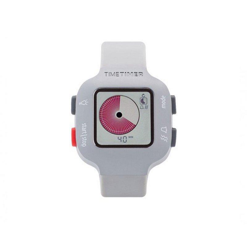 Time Timer Watch Plus Kol Saati Acik Gri