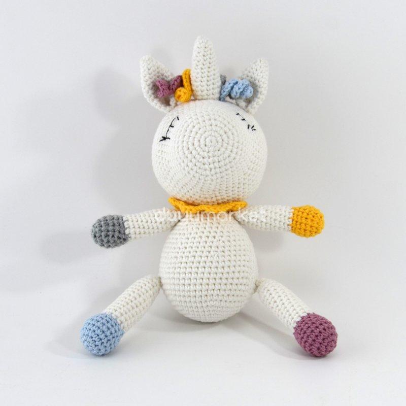 Amigurumi Unicorn ( 25 Cm )