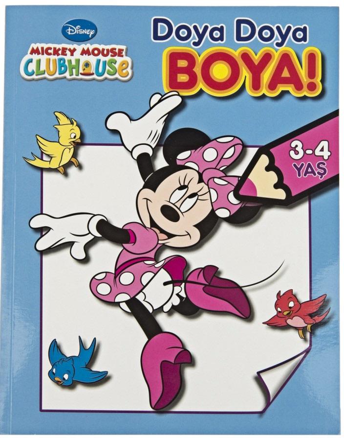Doya Doya Boya Mickey Mouse Club House 3 4 Yas