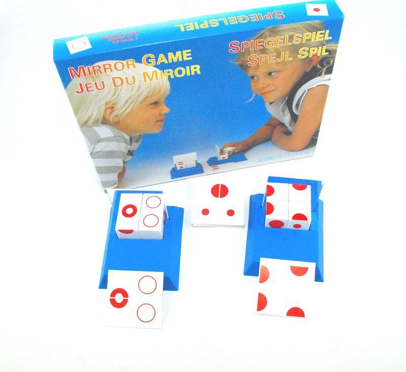 Gonge Ayna Simetri Oyunu Kirmizi Mirror Game Red 2004