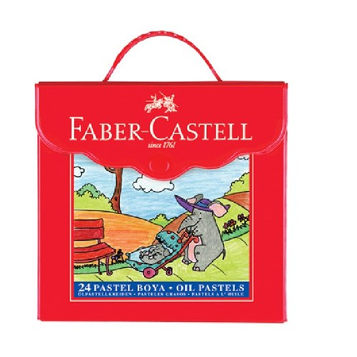 Faber Castell Pastel Boya Redline Çantalı 18'li