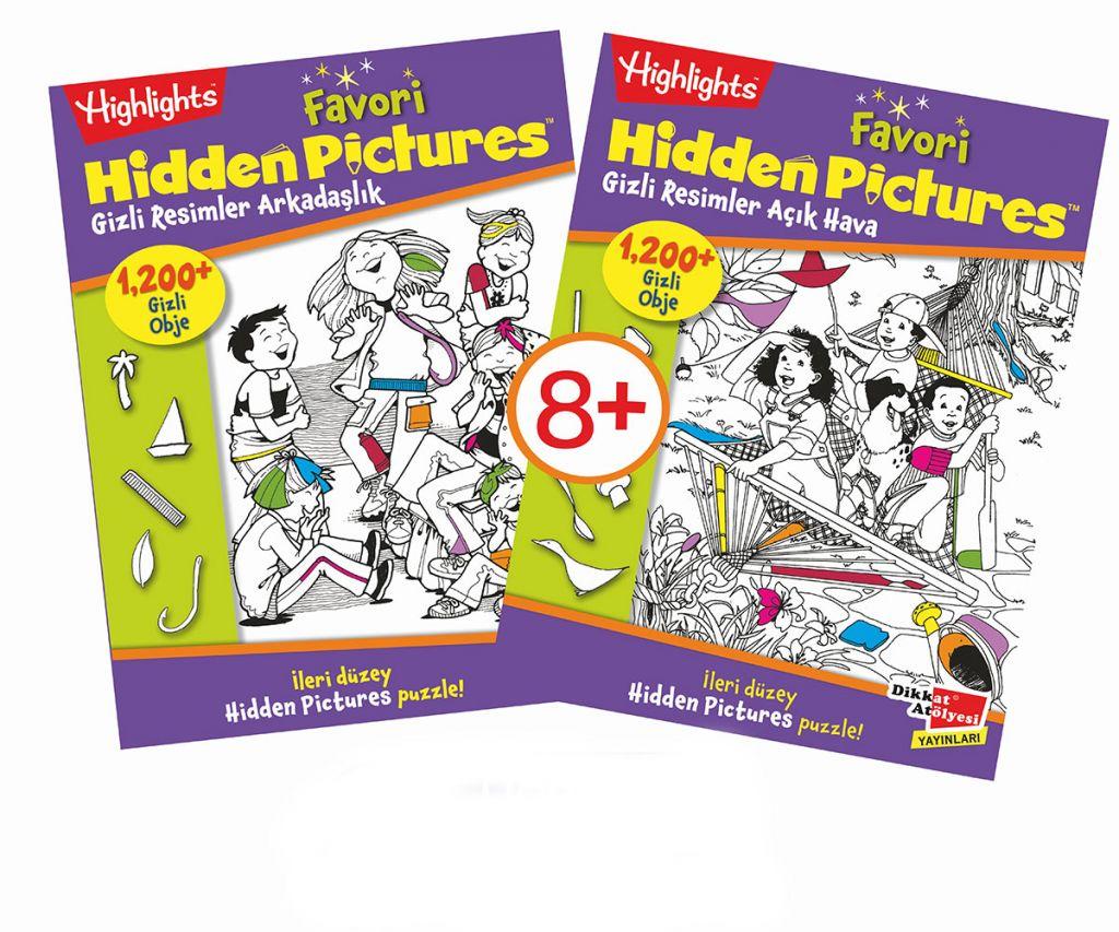 Favori Hidden Pictures 2'li Set