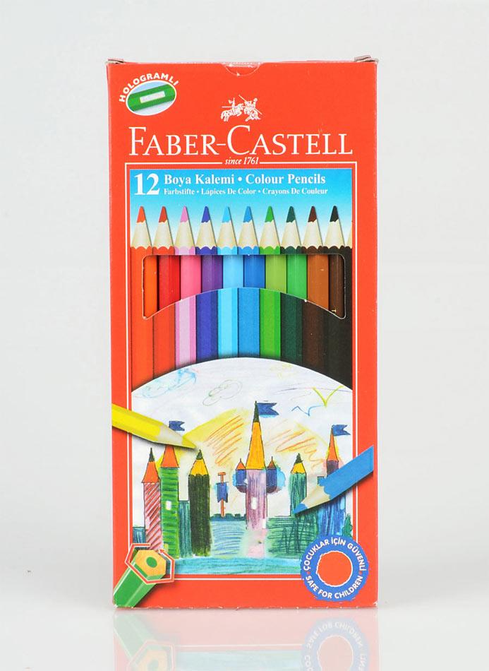 Faber Castell Redline 12'li Uzun Kuruboya