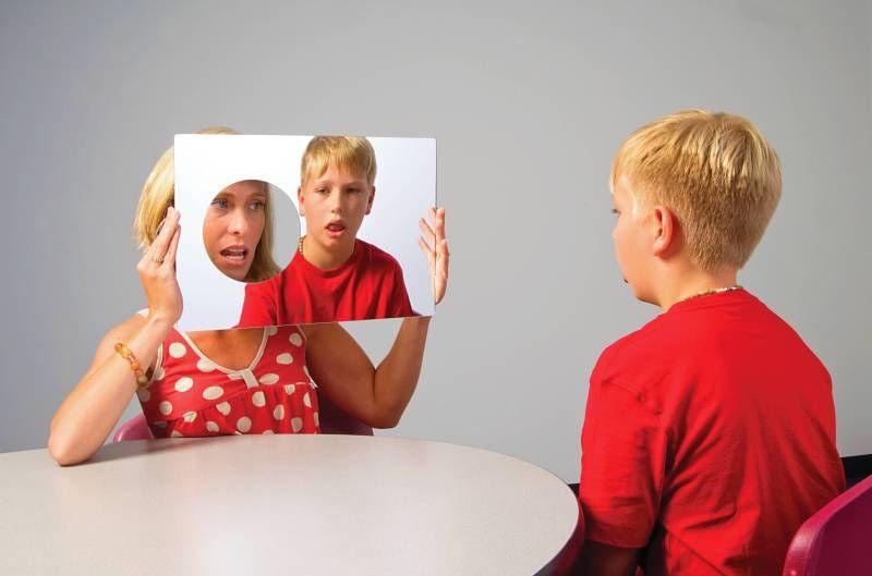 Dil Ve Konuşma Terapi Aynası