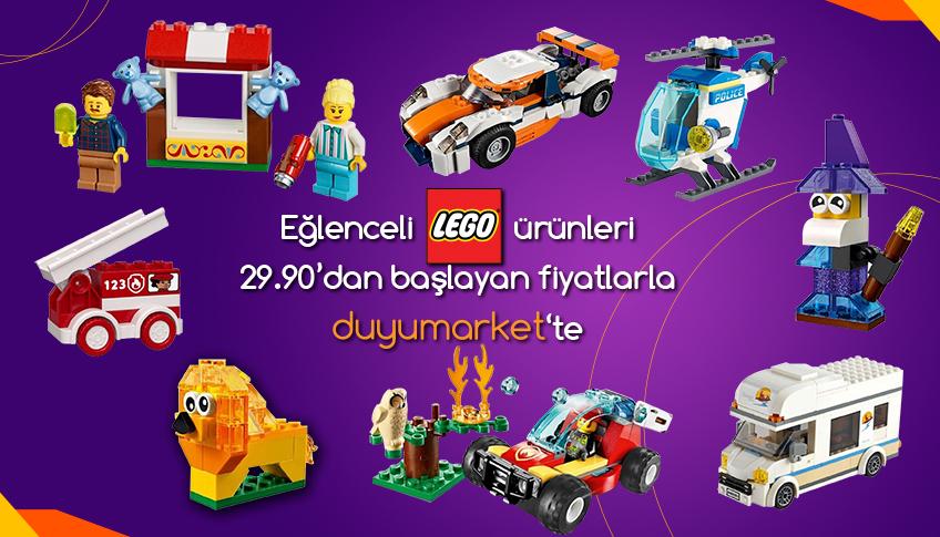 Eğlenceli lego ürünleri
