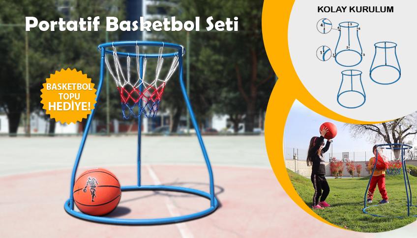 Portatif basketbol potası